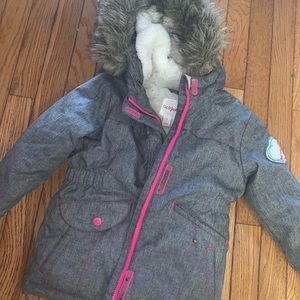 Girls 5t cat and jack weather resistant jacket